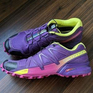 Salomon Speedcross 4 Women's NWOT Purple